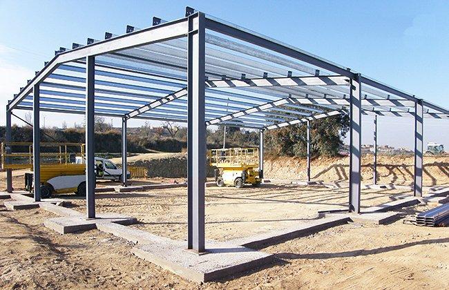 Estructuras met licas for Techos estructura metalica para casas